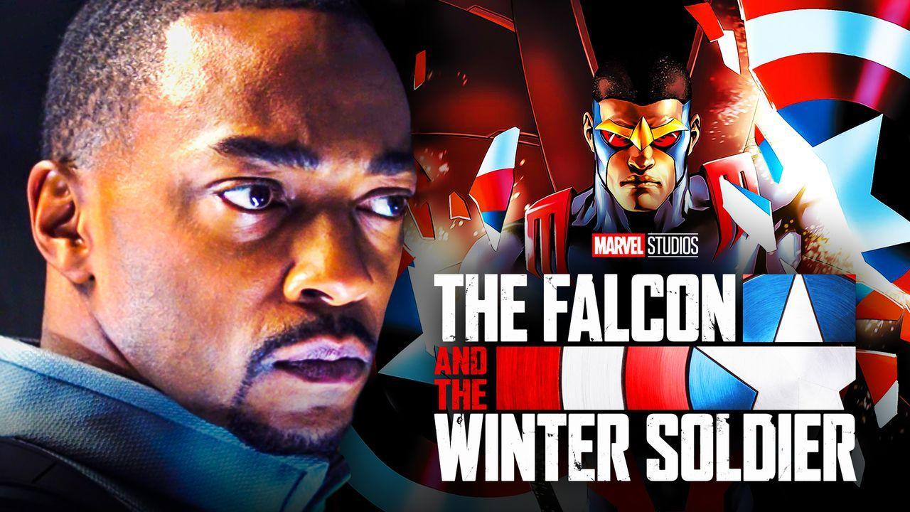 Anthony Mackie Falcon Captain America