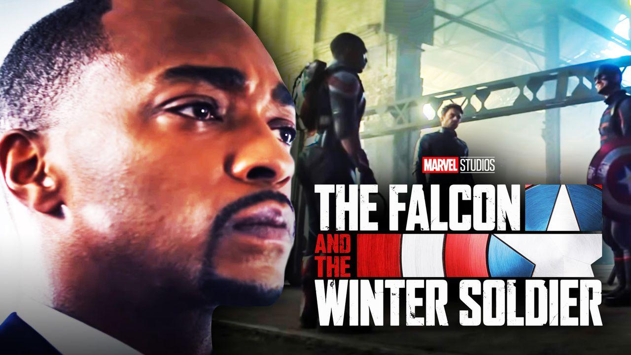 Falcon and Winter Soldier Anthony Mackie