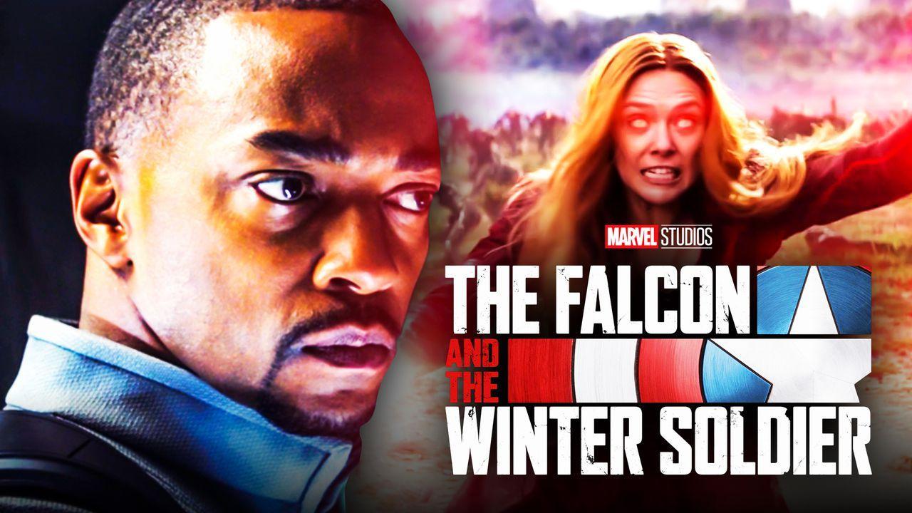 Wanda Maximoff Falcon and Winter Soldier