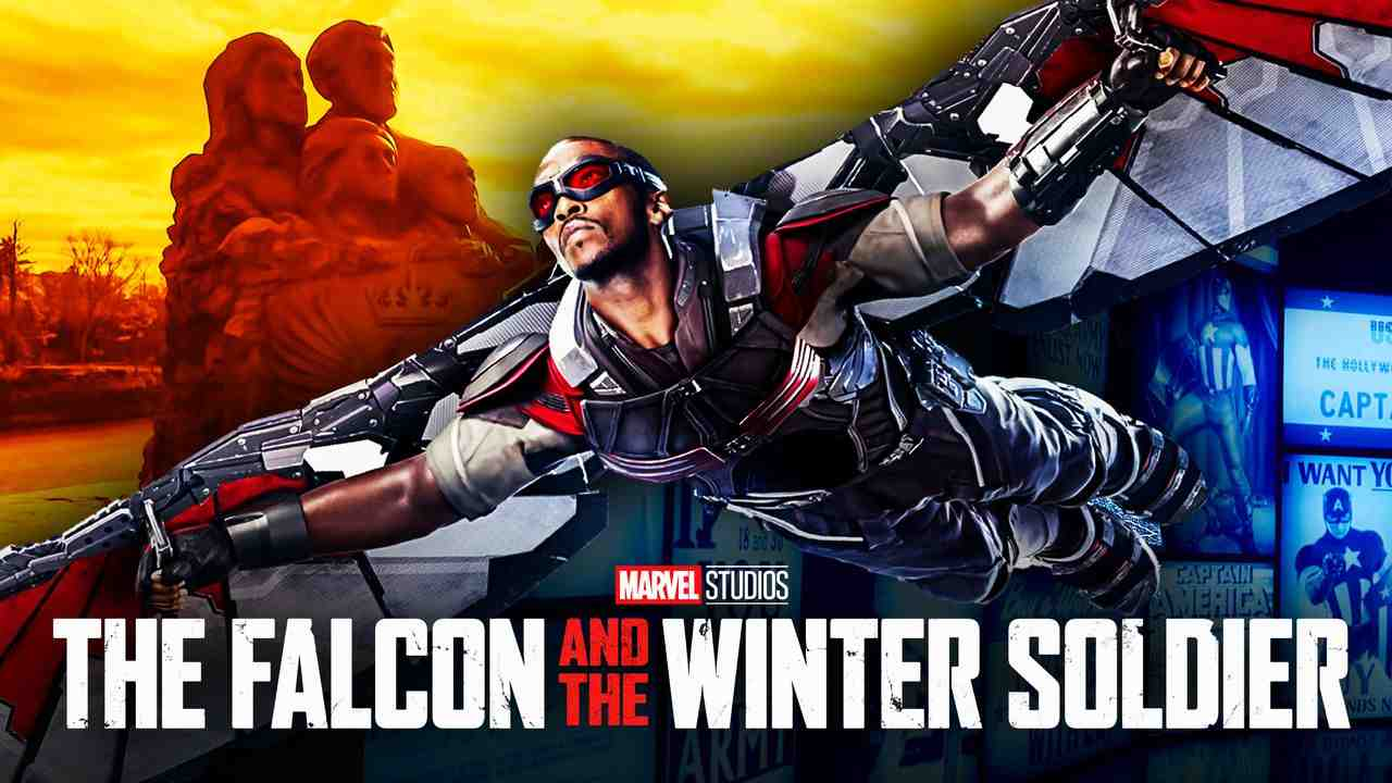 Falcon Flying The Falcon and the Winter Soldier