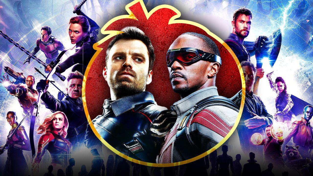 Falcon and Winter Soldier Avengers poster