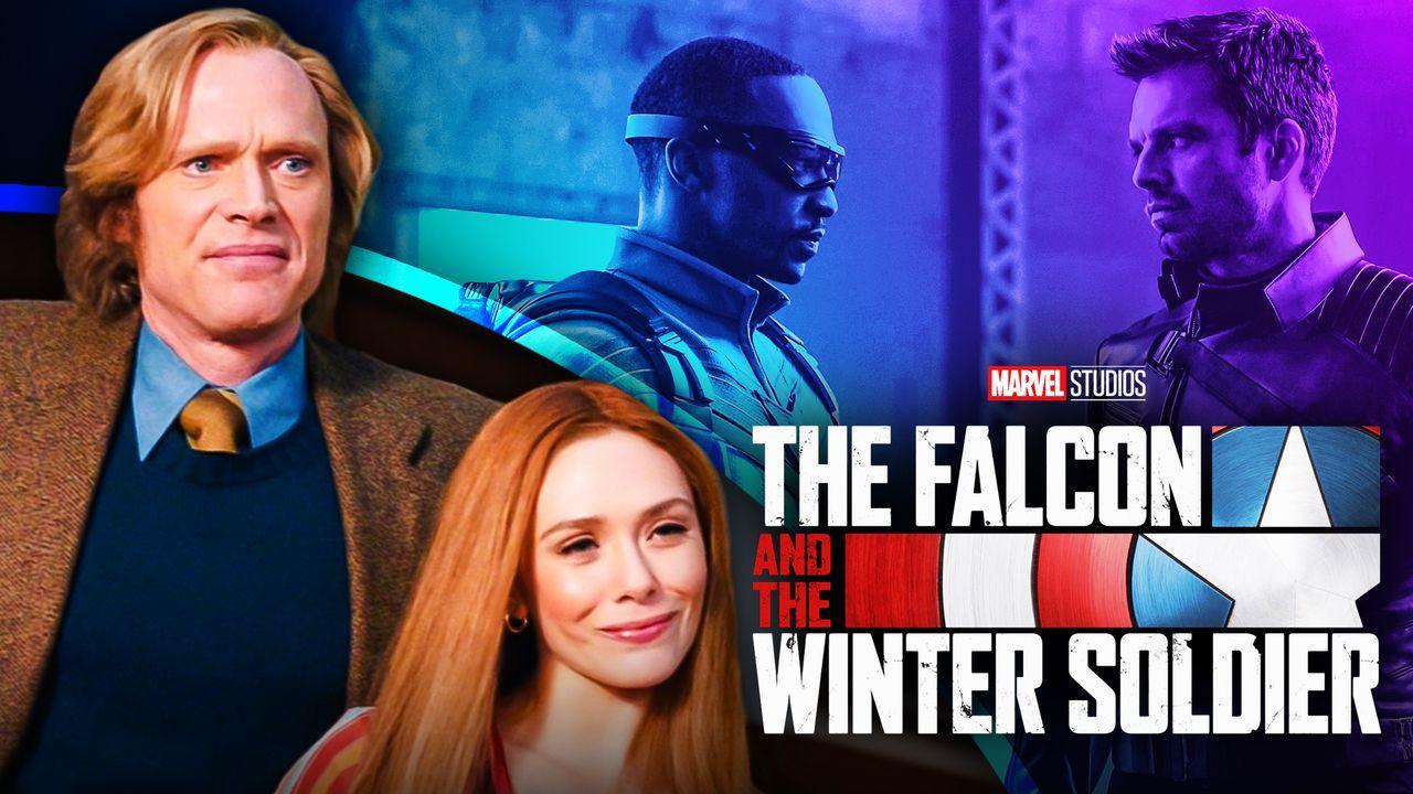 Wanda, Vision, WandaVision, Falcon and the Winter Soldier, Bucky, Falcon Sam, Captain America