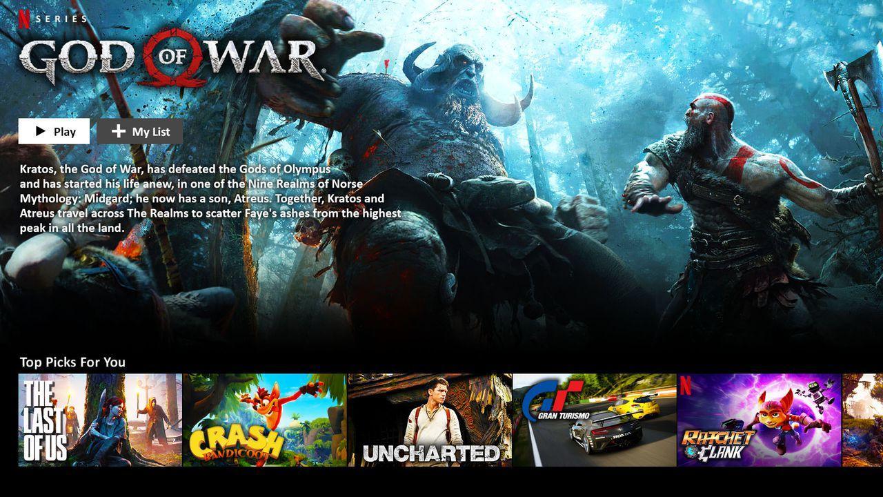 Netflix PlayStation Adaptations Concept Art
