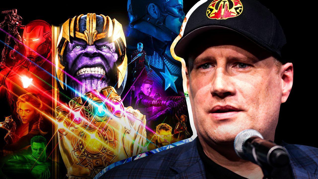 Kevin Feige, Thanos, Avengers poster