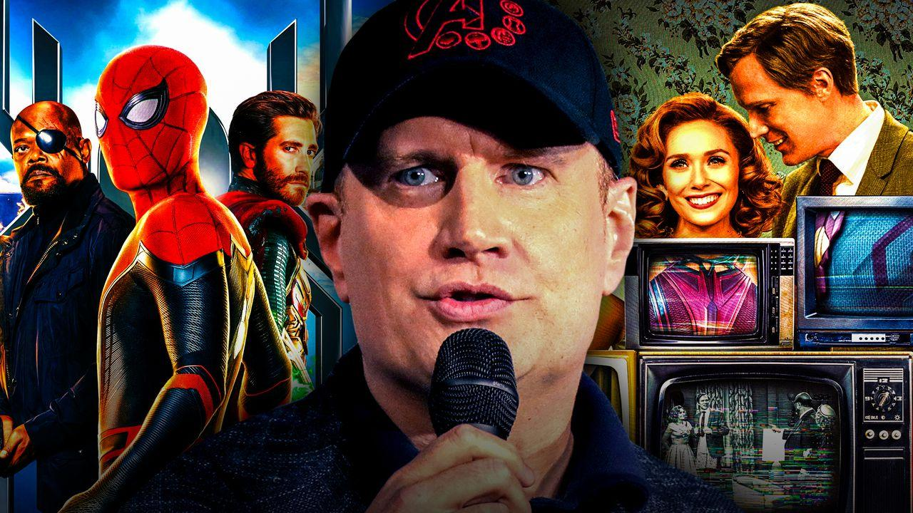 Spider-Man: Far From Home, Kevin Feige, WandaVision
