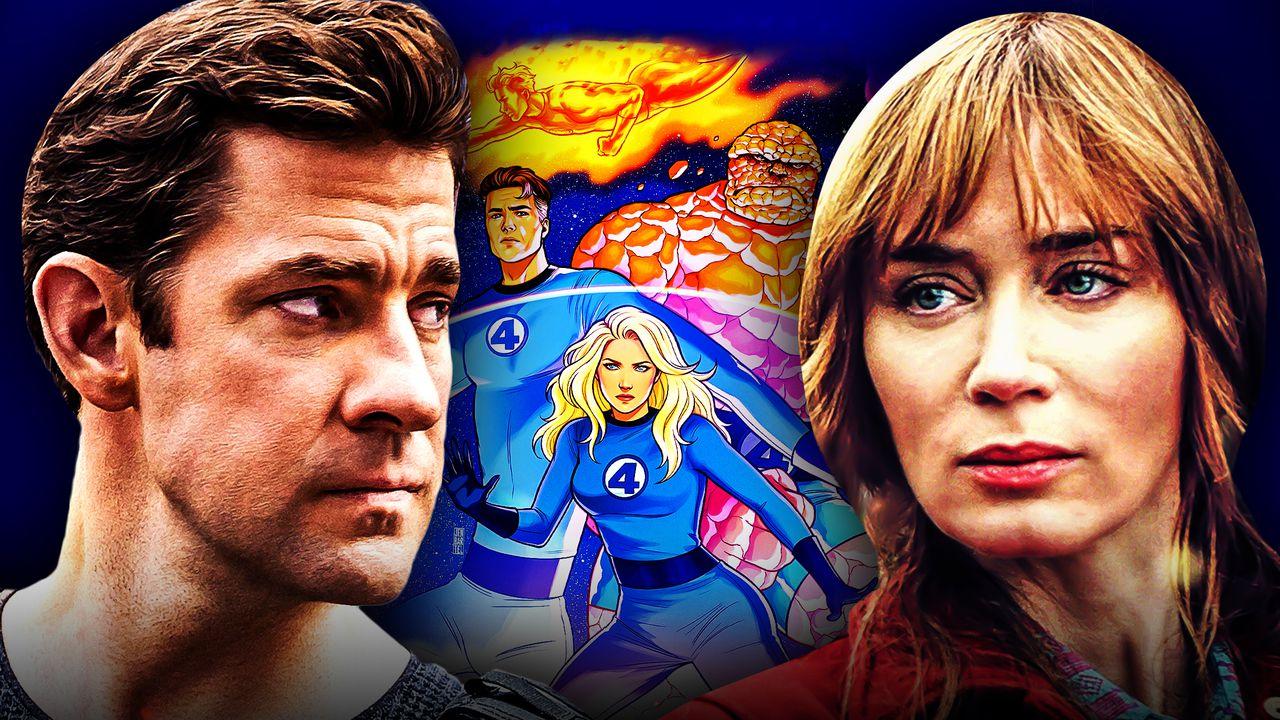 Fantastic Four Emily Blunt John Krasinski Casting