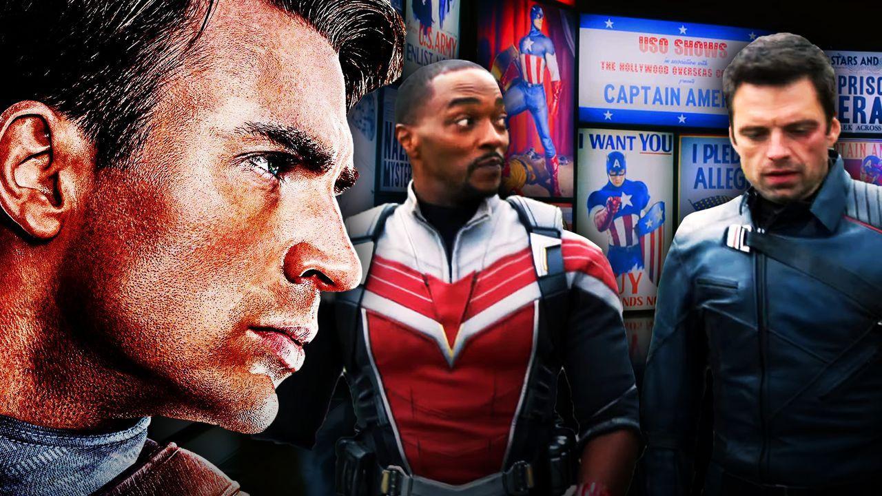 Captain America, Falcon and Bucky