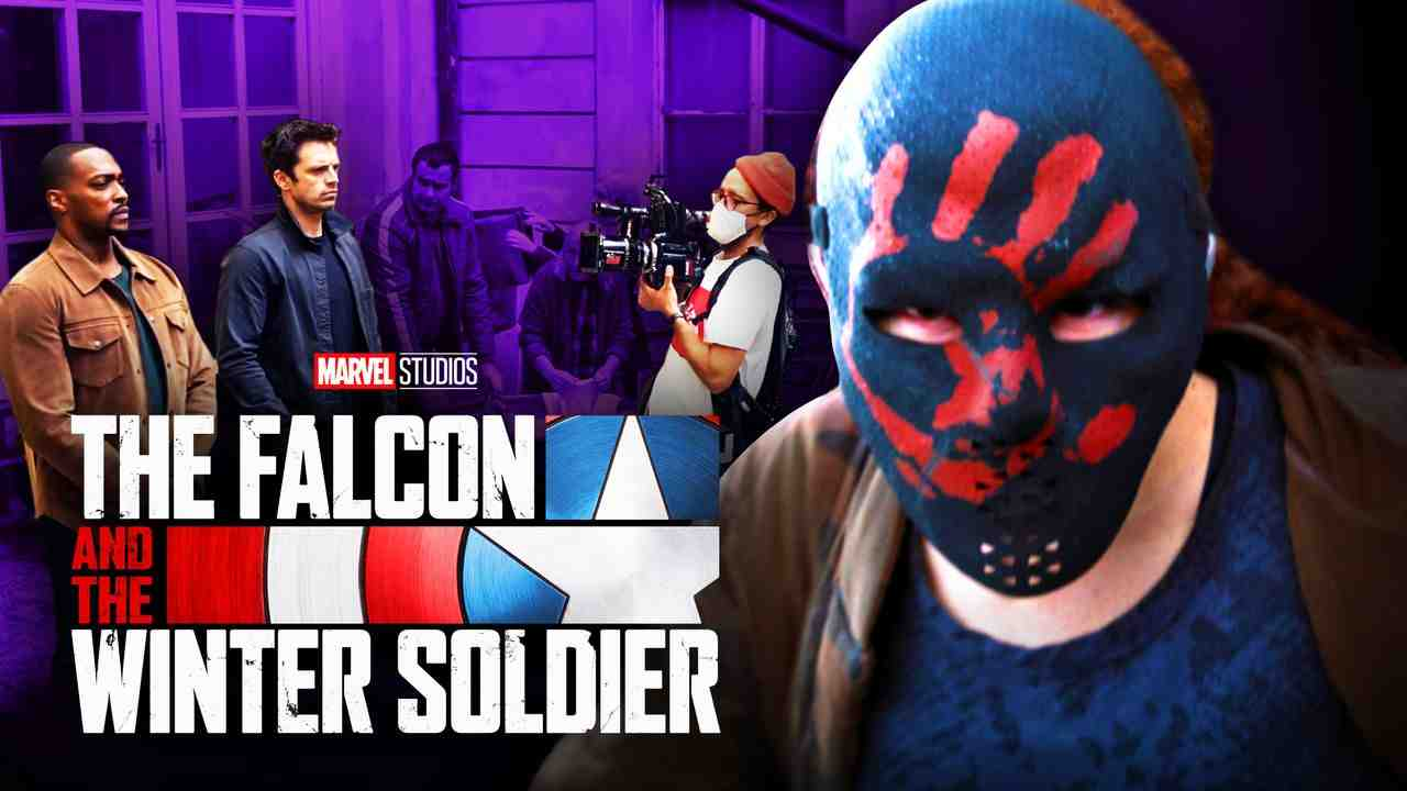 Falcon and Winter Soldier Flag Smasher