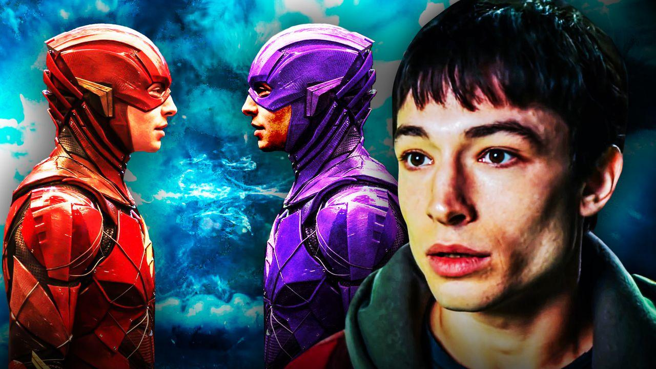 Ezra Miller Barry Allen Flash