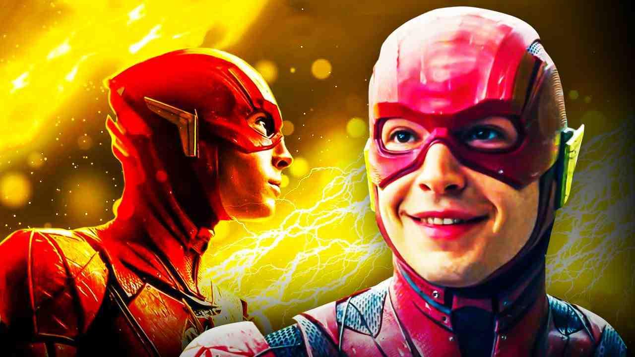Flash Superhero Ezra Miller