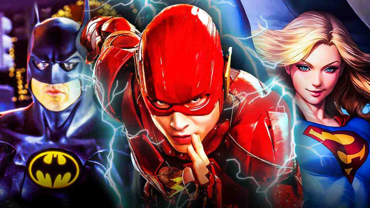 Flash Batman Supergirl