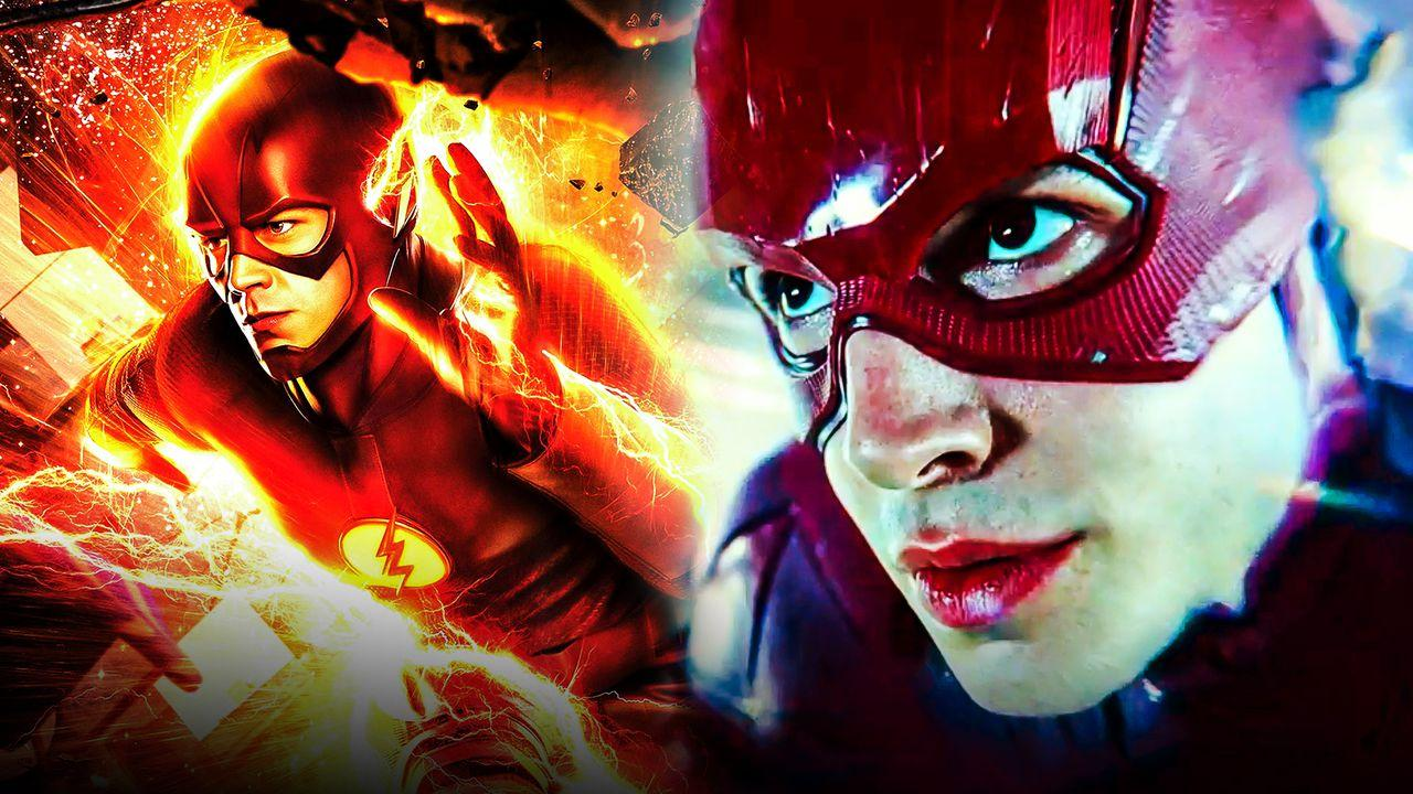 Flash Barry Allen Comparison Movies TV