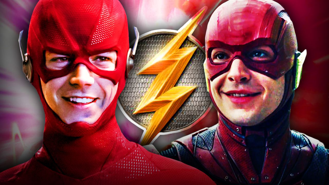 Grant Gustin Flash, Ezra Miller Flash