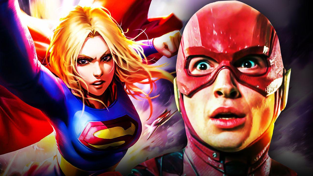 Supergirl Flash Movie