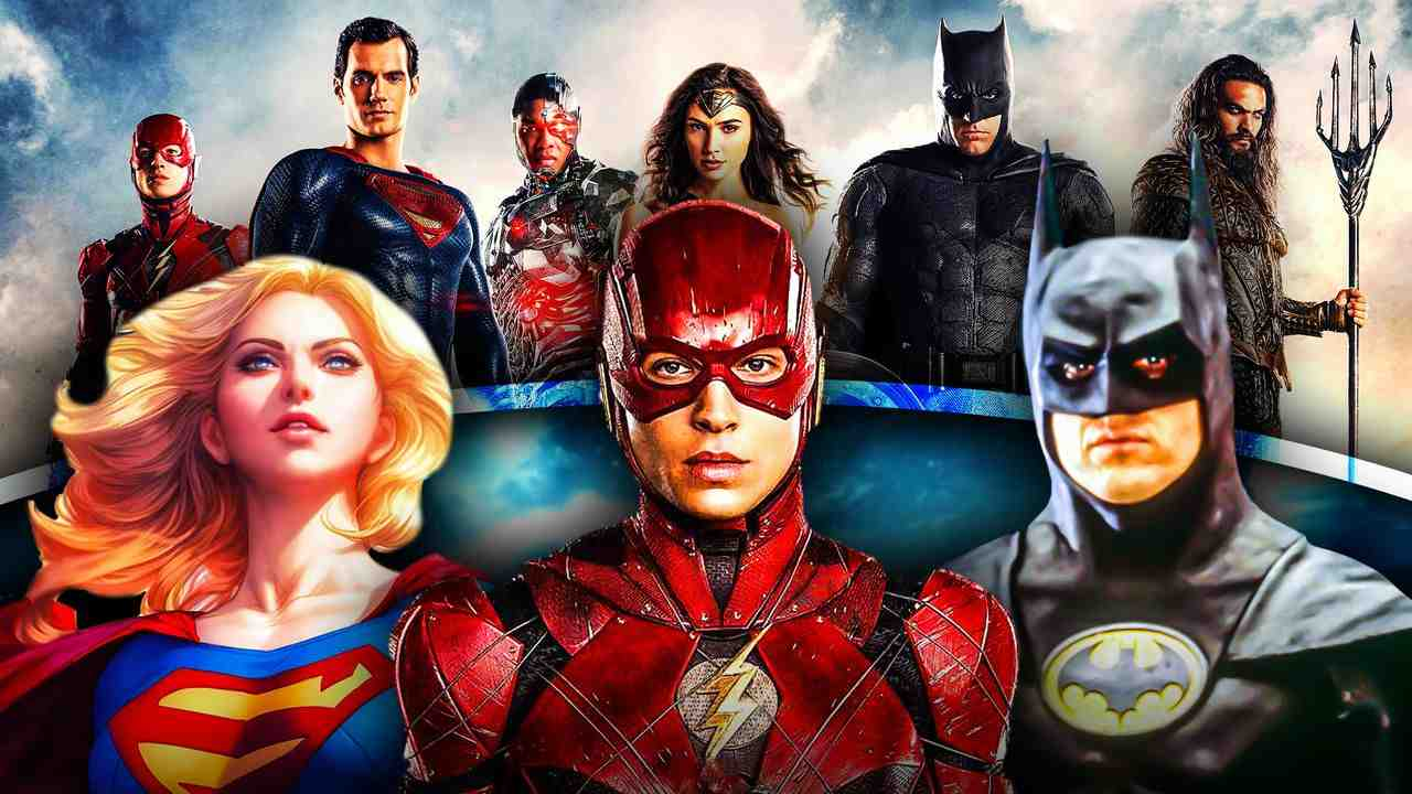 Flash Supergirl Batman