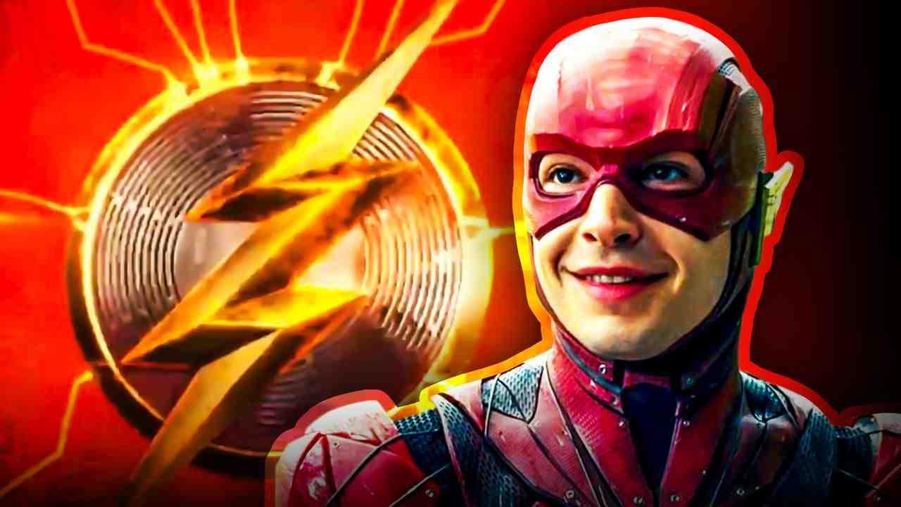 The Flash Superhero logo