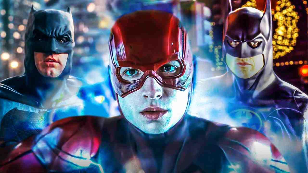 Flash Batman Michael Keaton Ben Affleck