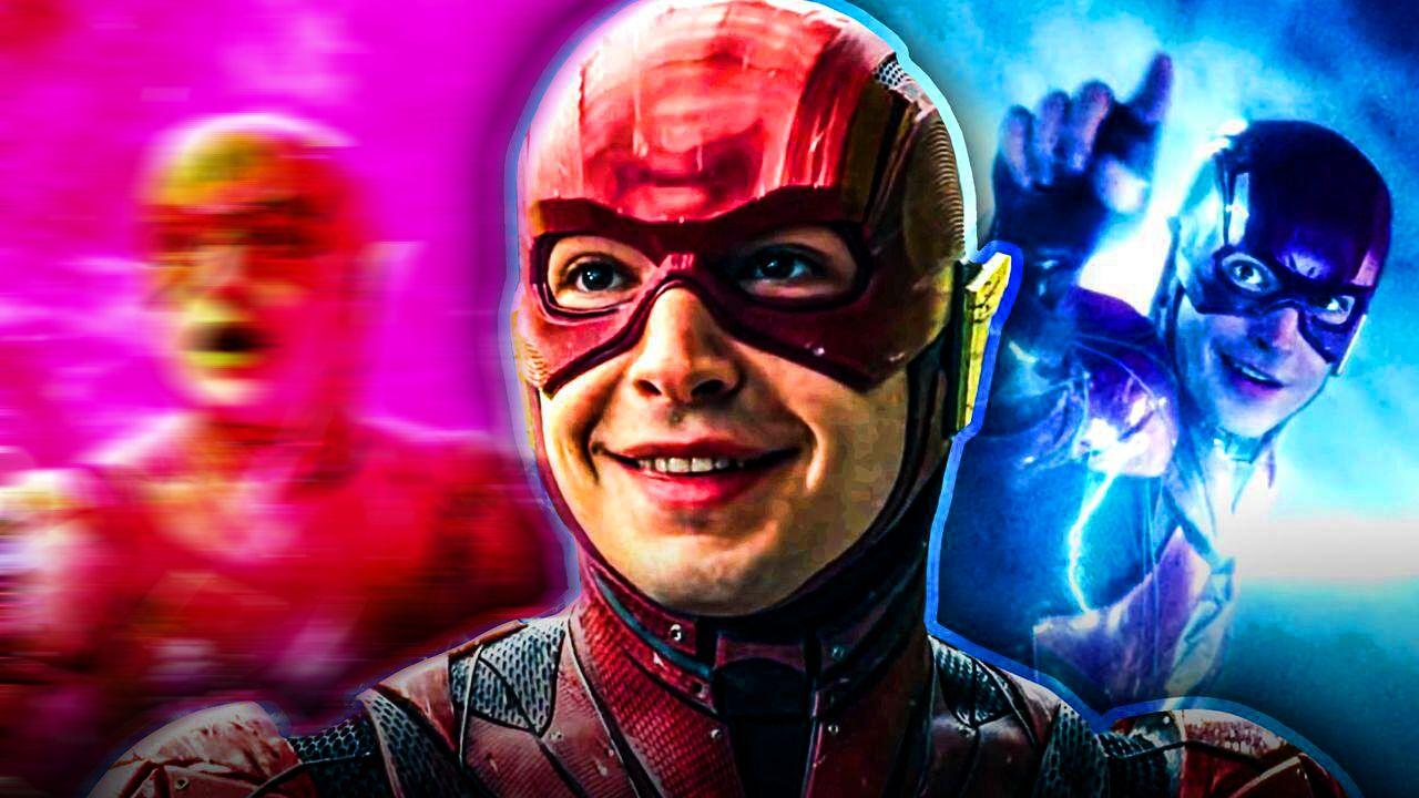 Flash Ezra Miller Costume