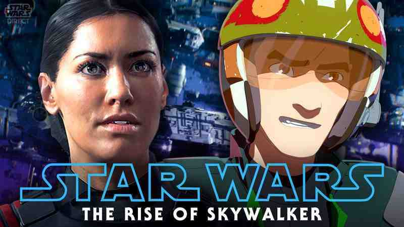 Fleet cameos in The Rise of Skywalker