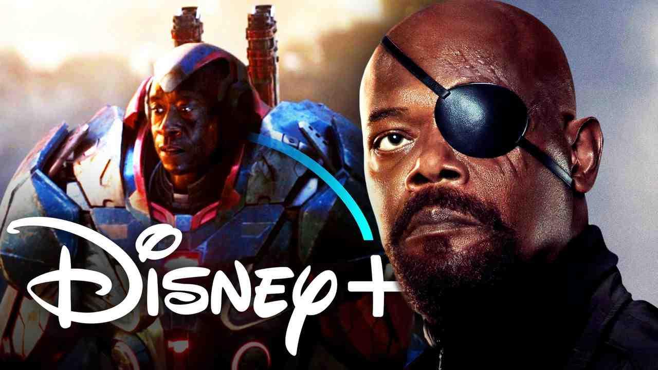 War Machine, Nick Fury, Disney+