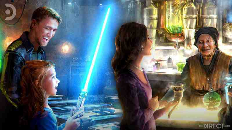 Star Wars: Tales from Galaxy's Edge VR game