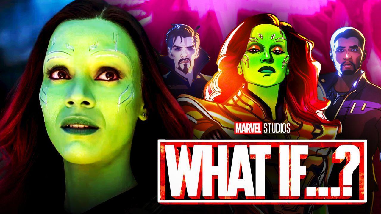 Gamora, Marvel's What If...? Logo