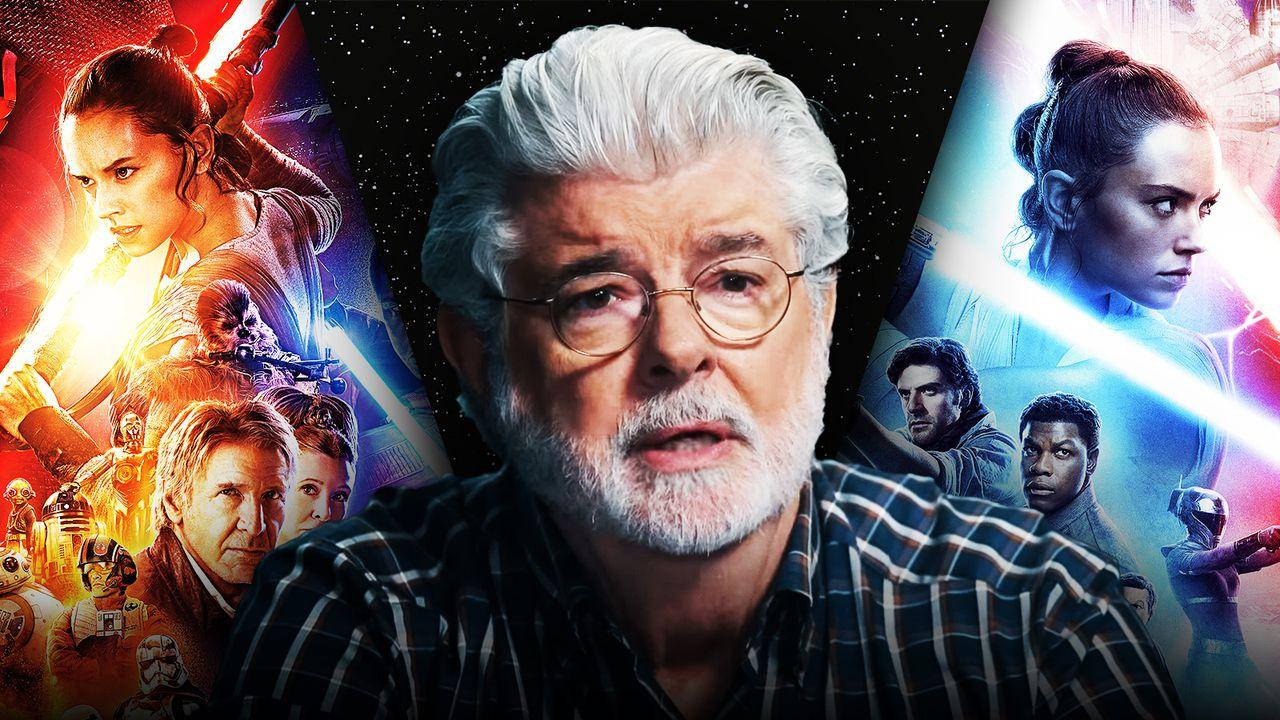Star Wars George Lucas Sequel Trilogy Posters