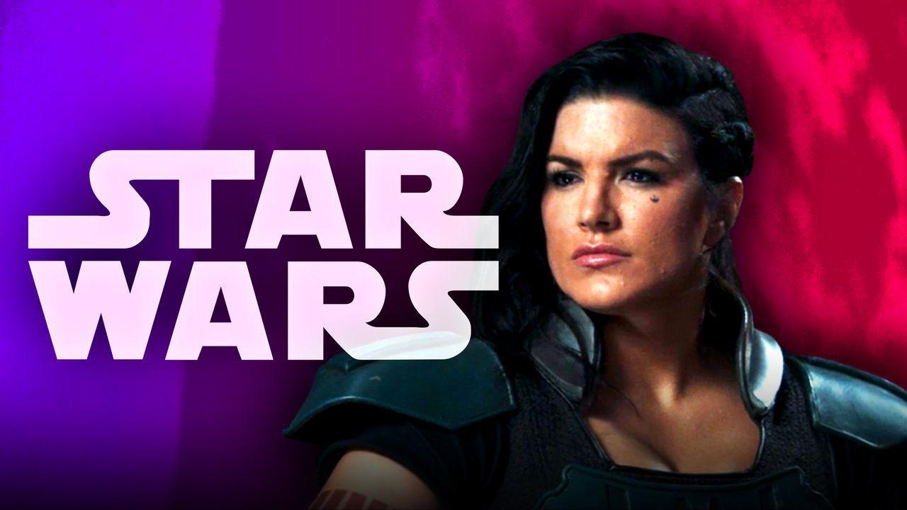 Star Wars logo Gina Carano