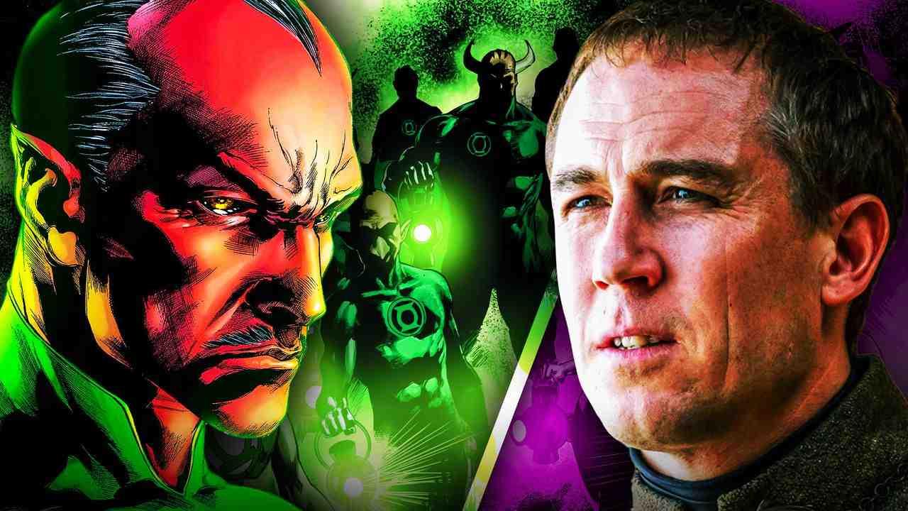 Green Lantern Sinestro Tobias Menzies