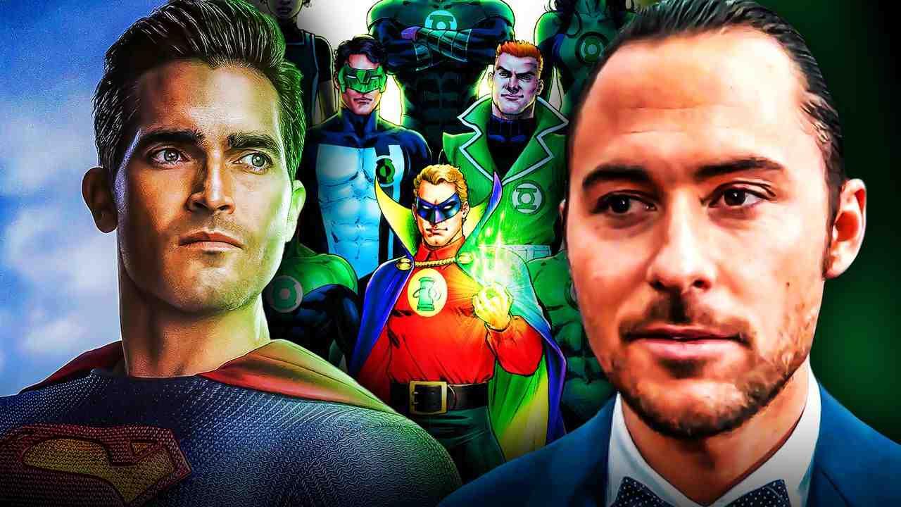 Green Lantern Superman HBO Max Director