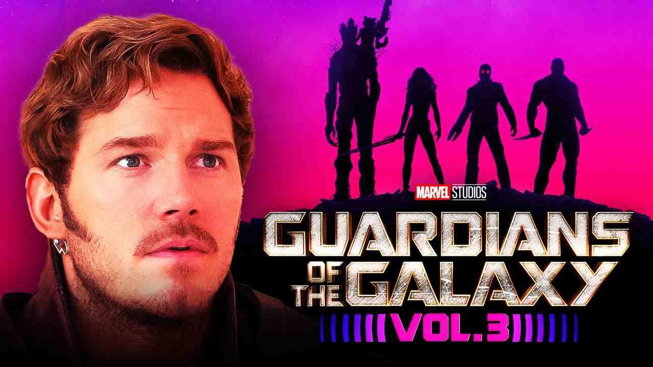 Chris Pratt as Star-Lord in Guardians of the Galaxy Vol. 3