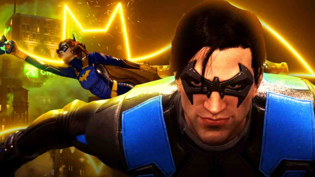 Gotham Knights Nightwing and Batgirl