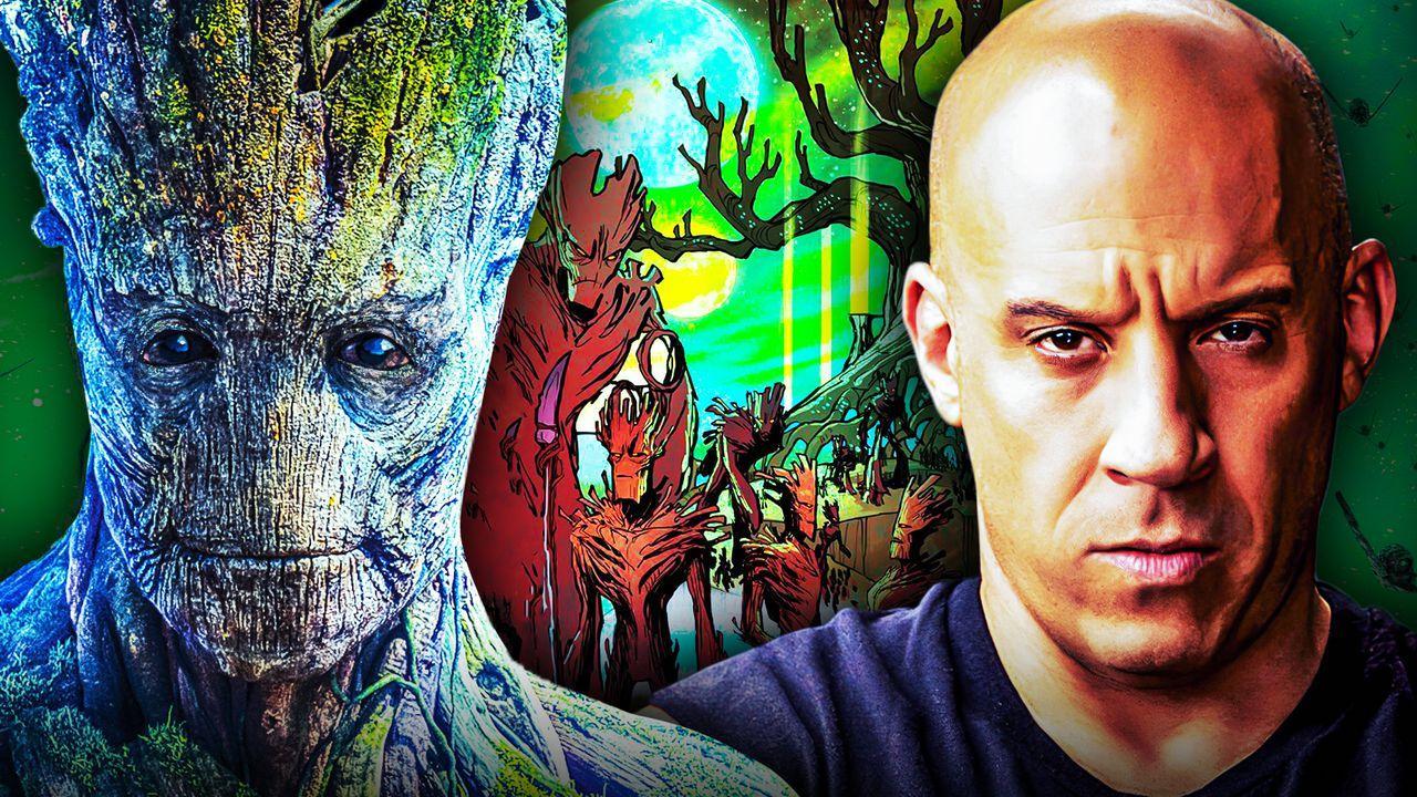 Groot Vin Diesel Guardians of the Galaxy