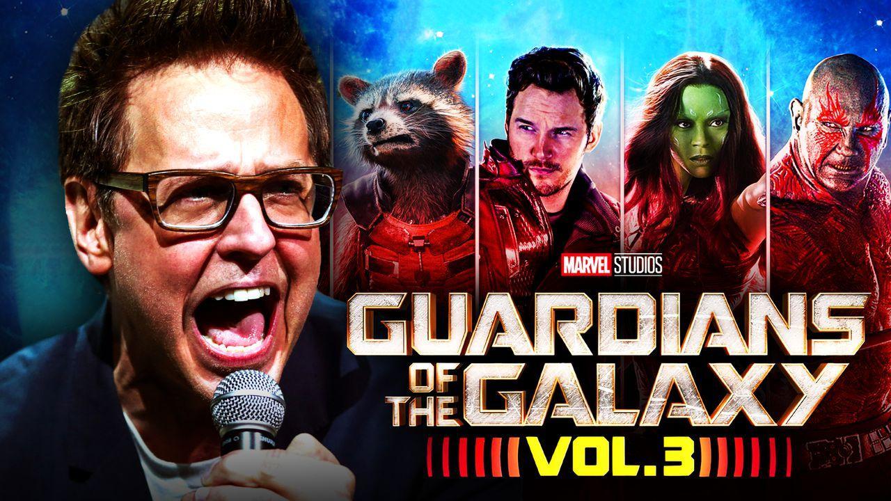 James Gunn Guardians Vol. 3
