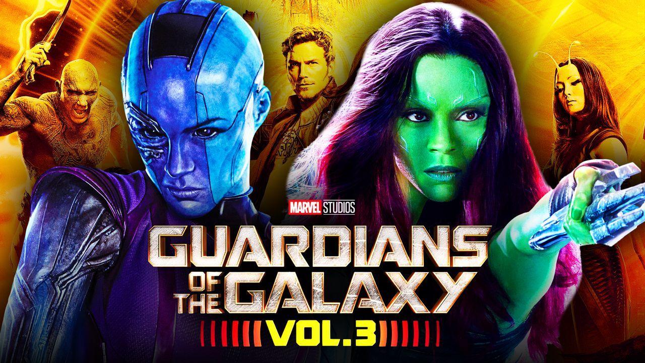 Guardians of the Galaxy Vol 3 Nebul Gamora