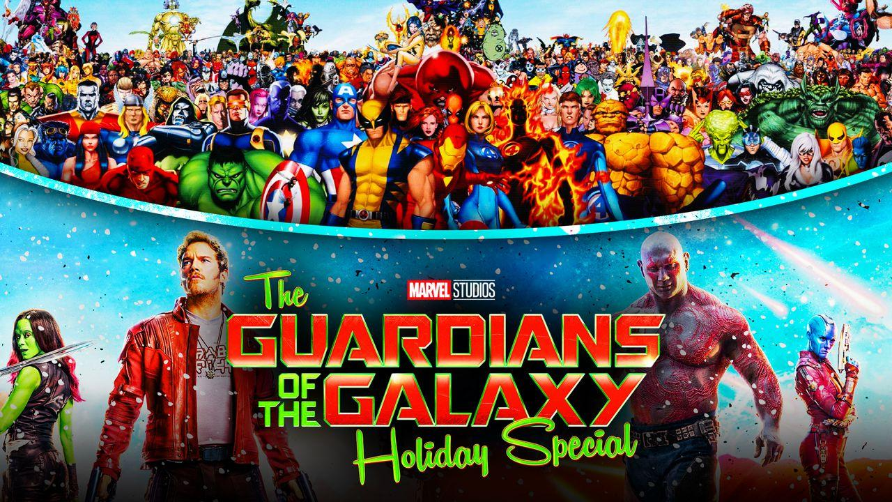 Guardians of the Galaxy Holiday Special logo, Marvel Characters