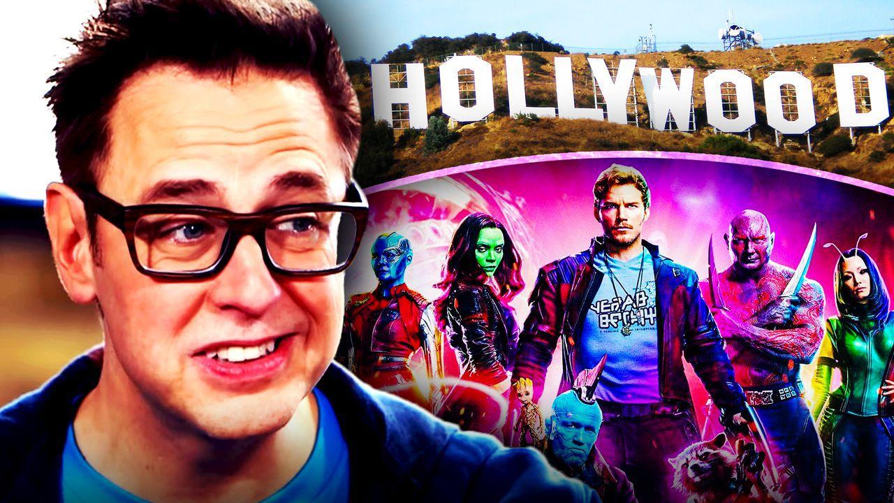 Guardians of the Galaxy, Hollywood Sign, James Gunn Profits