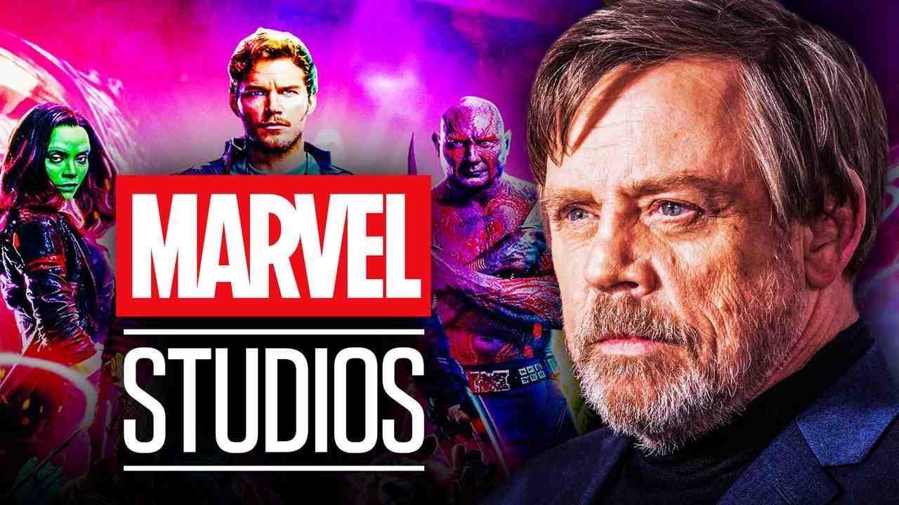 Guardians of the Galaxy Mark Hamill Marvel Studios Logo