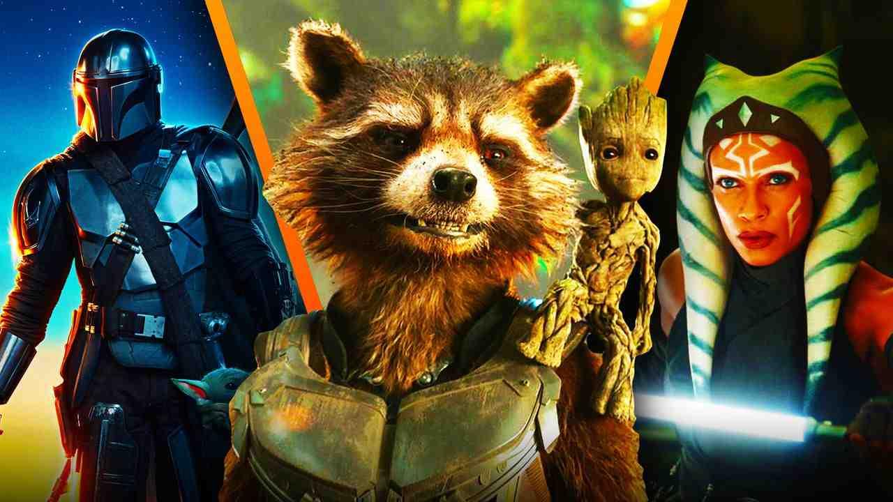 Rocket Raccoon, The Mandalorian, Ahsoka