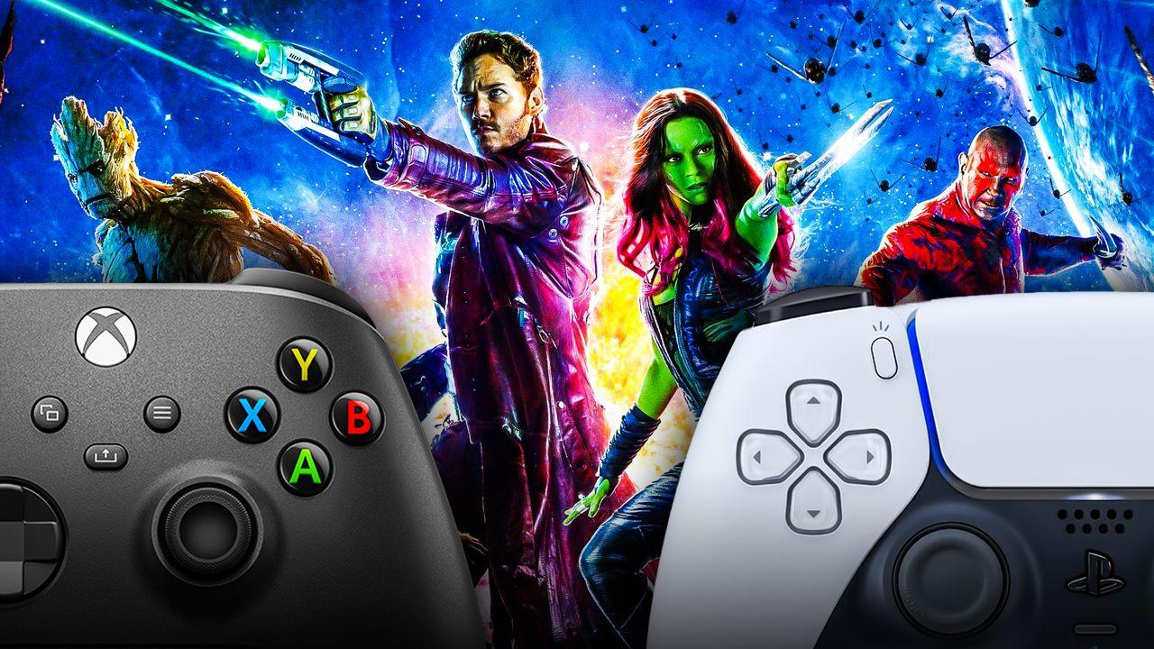 Guardians of the Galaxy Video Game Xbox PlayStation Controllers
