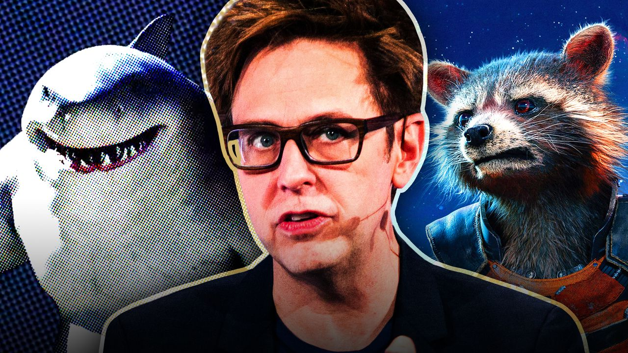 King Shark, James Gunn, Rocket Raccoon