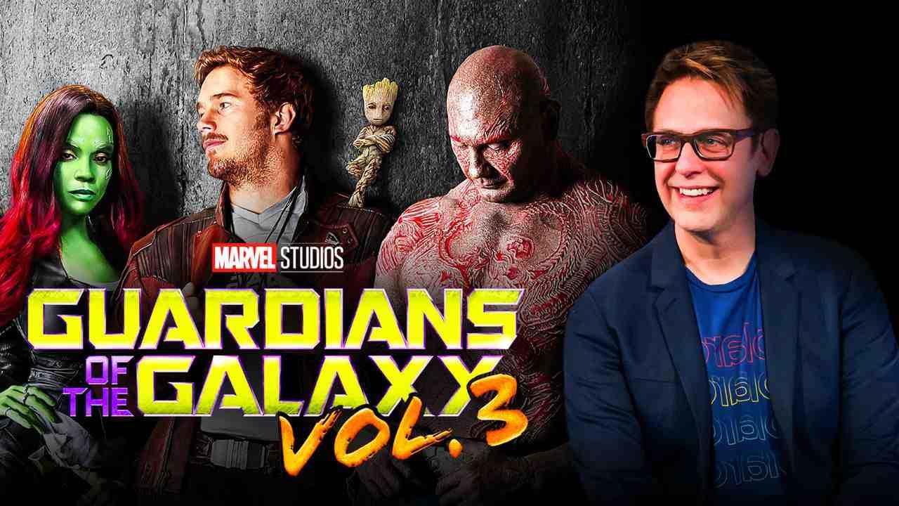 James Gunn Guardians of the Galaxy Vol 3
