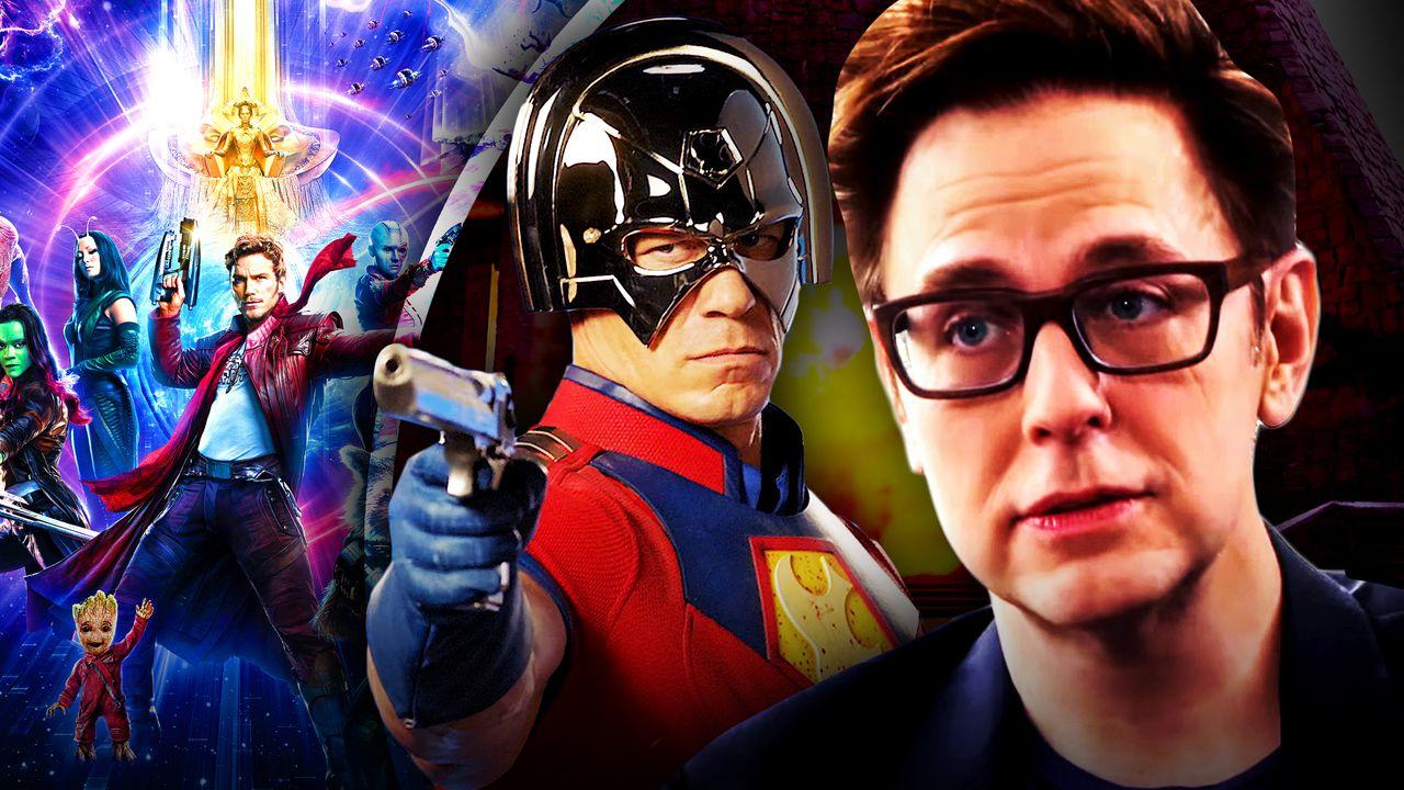 James Gunn Peacemaker Guardians of the Galaxy