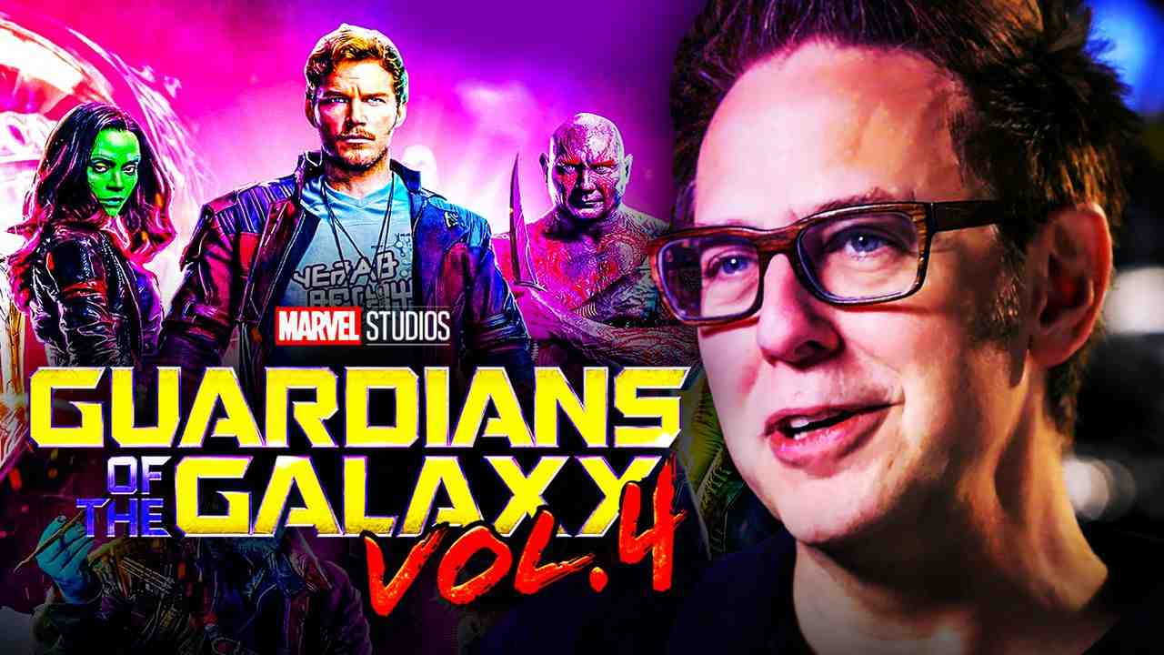 Guardians of the Galaxy 4 Logo James Gunn