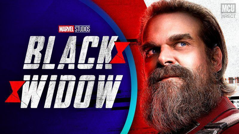 """David Harbour Thinks It'd Be """"Fun"""" To Release BLACK WIDOW on streaming"""