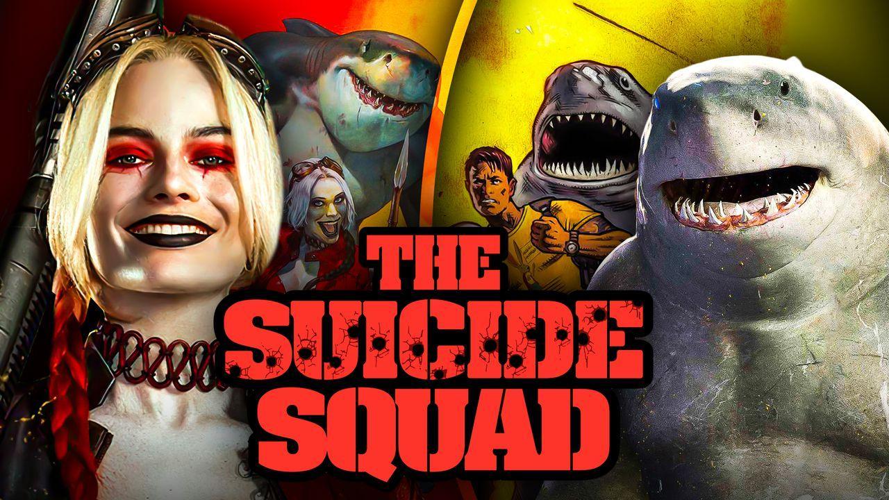 Margot Robbie Harley Quinn King Shark