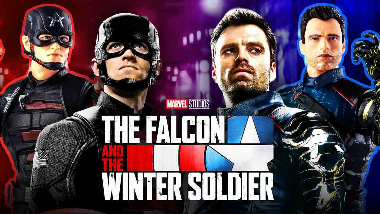 Winter Soldier US Agent Falcon and Winter Soldier logo