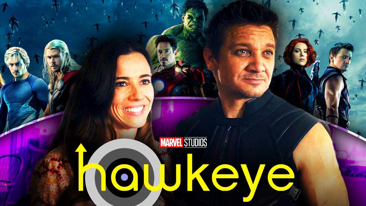 Laura Barton, Hawkeye, Avengers: Age of Ultron