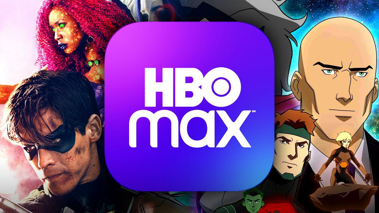 Titans, HBO Max logo, Young Justice