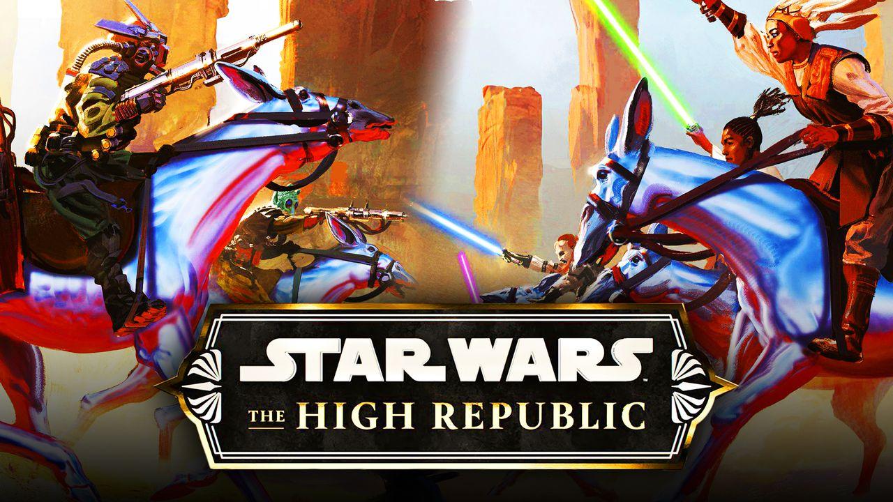 Star Wars The High Republic logo, Jedi Knights
